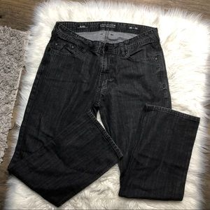 Affliction Blake relaxed straight jeans 36x34